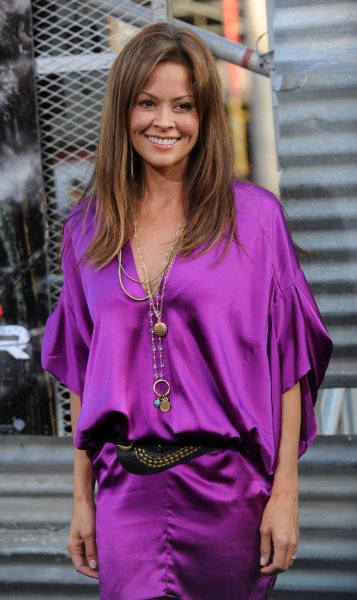 Actress Brooke Burke attends the premiere of the motion picture sci-fi thriller Terminator Salvation, at Grauman's Chinese Theatre in the Hollywood section of Los Angeles on May 14, 2009. (UPI Photo/Jim Ruymen)
