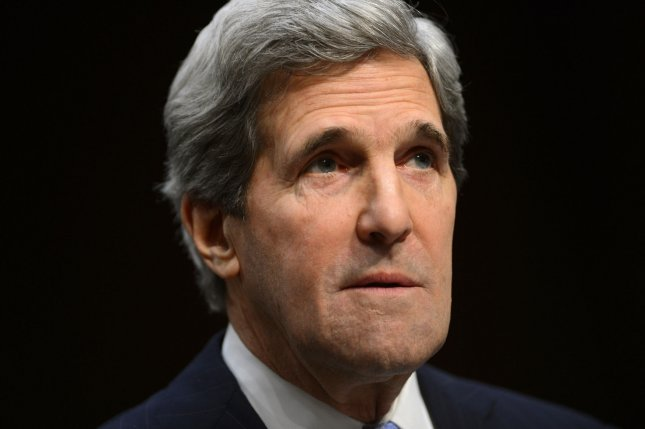 Sen. John Kerry, D-Mass., received the unanimous approval of the Senate Foreign Relations Committee to be the next secretary of state, replacing Hillary Clinton. Jan. 24 file photo. UPI/Kevin Dietsch