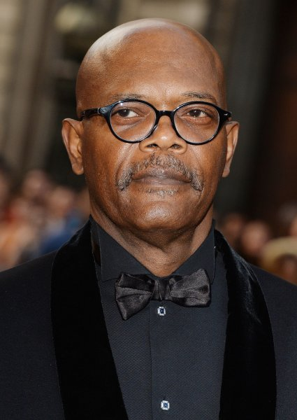 American actor Samuel L. Jackson attends the GQ Men Of The Year Awards at Royal Opera House in London on September 3, 2013. UPI/ Rune Hellestad