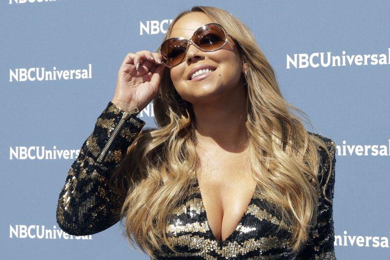 Mariah Carey at the NBCUniversal Upfront on May 16. File Photo by John Angelillo/UPI