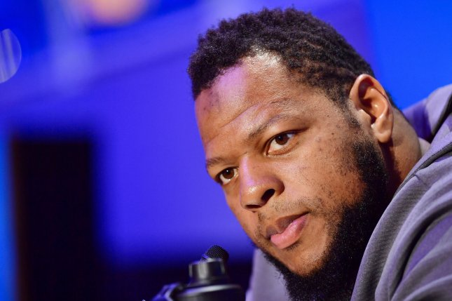 Ndamukong Suh appeared in his first Super Bowl in February after signing a one-year deal with the Los Angeles Rams last off-season. File Photo by Kevin Dietsch/UPI