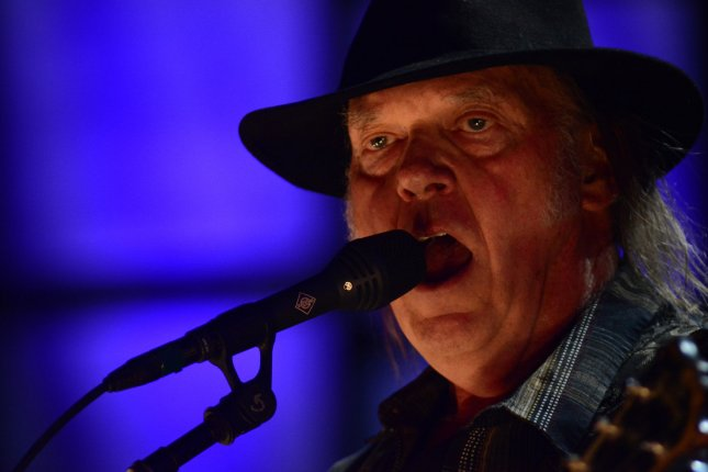Neil Young's lawsuit against President Donald Trump's reelection campaign seeks to stop the campaign from using Young's music at future events. File Photo by Archie Carpenter/UPI
