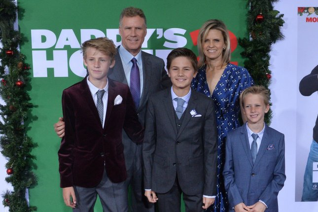 will ferrell and his family attend daddy s home 2 premiere upi com