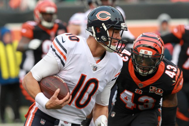 Trubisky, Howard lead Bears over hapless Bengals 33-7