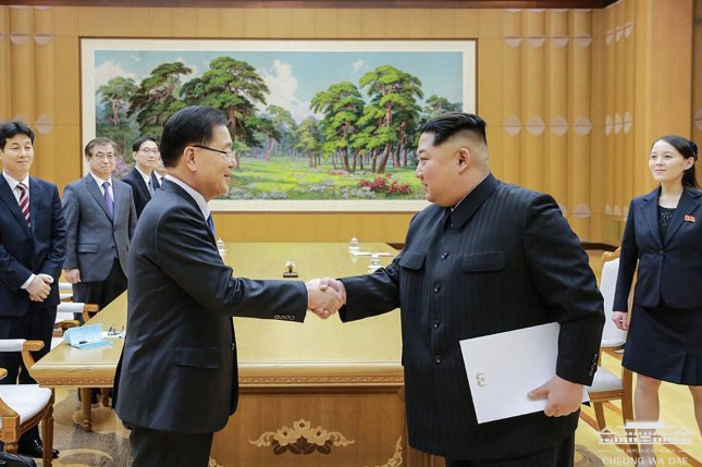 Kim Jong Un said he would give up nukes, South Korean official says