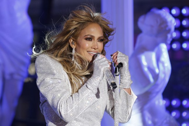 Jennifer Lopez's romantic comedy Marry Me, which also stars Owen Wilson and Maluma, has been delayed to 2022. Pool Photo by Gary Hershorn/UPI