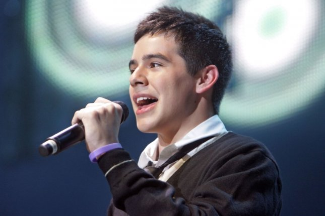 David Archuleta discussed his coming out as a member of the LGBTQ community. File Photo by Roger Williams/UPI