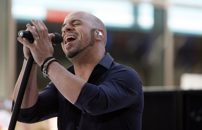 Chris Daughtry of the band Daughtry performs on the NBC Today show live from Rockefeller Center in New York City on July 14, 2009. (UPI Photo/John Angelillo)