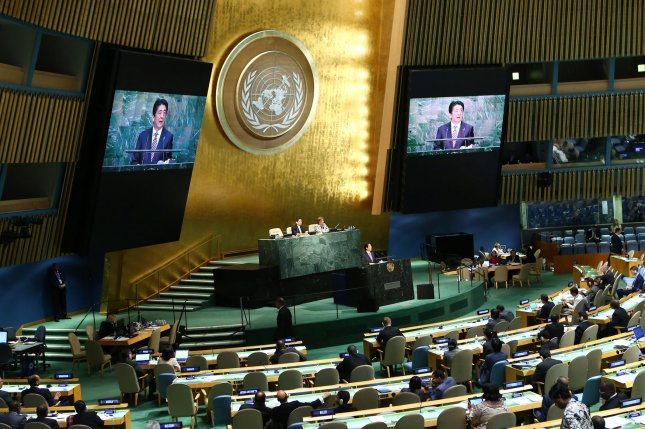 The United Nations General Assembly voted to condemn the U.S. embargo of Cuba on October 27, 2015. Photo by Monika Graff/UPI