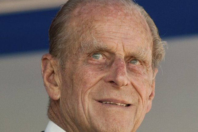 Britain's Prince Philip was admitted to the hospital on Tuesday for a planned hip operation. File photo by Heinz Ruckemann/UPI