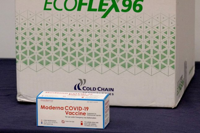 A Wisconsin hospital worker was fired and arrested after destroying 500 doses of Moderna's COVID-19 vaccine by intentionally leaving them out of refrigeration overnight.Photo by Gary I Rothstein/UPI