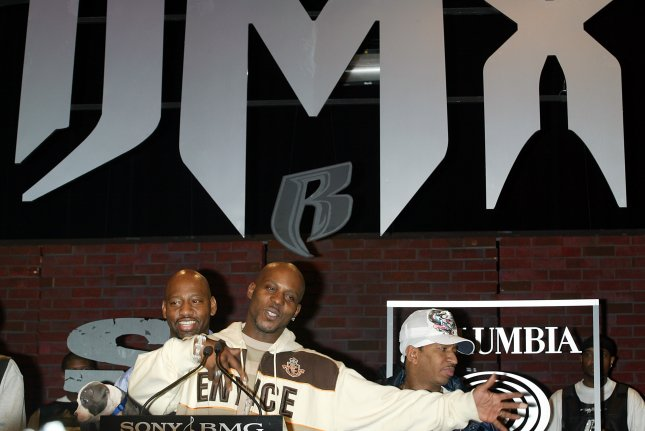 DMX announces being signed to Sony Urban Music/Columbia Records and the upcoming release of his 6th solo album at a press conference at Sony Music Studios in New York on January 13, 2006. (UPI Photo/Laura Cavanaugh)