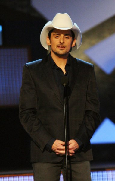 Brad Paisley hosts the 43rd Annual Country Music Association Awards in Nashville, Tennessee on November 11, 2009. UPI/Terry Wyatt