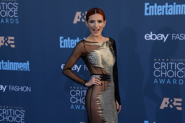 Bella Thorne attends the 22nd annual Critics' Choice Awards on December 11, 2016. Thorne's drama Famous in Love has been picked up for a second season. File Photo by Jim Ruymen/UPI