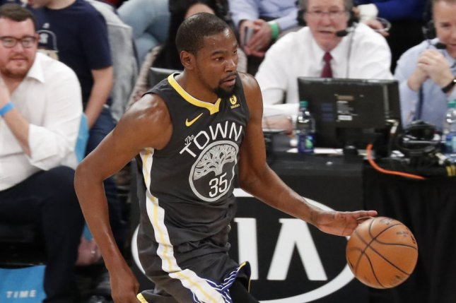 Excited Kevin Durant reveals Warriors reaction to Stephen Curry injury news