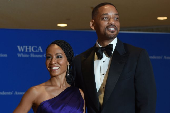 Ali stars Will Smith and Jada Pinkett Smith posing on the red carpet prior to the White House Correspondents Association Dinner on April 30, 2016. Ali is set to return to theaters for a limited run. File Photo by Molly Riley/UPI