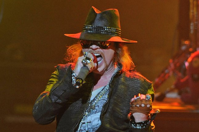 Axl Rose and Guns N' Roses will take the stage at Voodoo Music + Arts Experience in October. File Photo by Michael Bush/UPI