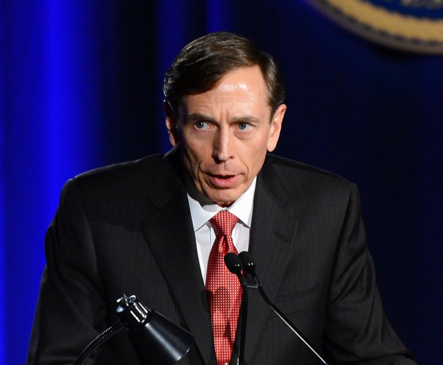 Former CIA Director David Petraeus was named visiting professor of public policy at Macauley Honors College at City University of New York, the school said. file photo. UPI/Jim Ruymen