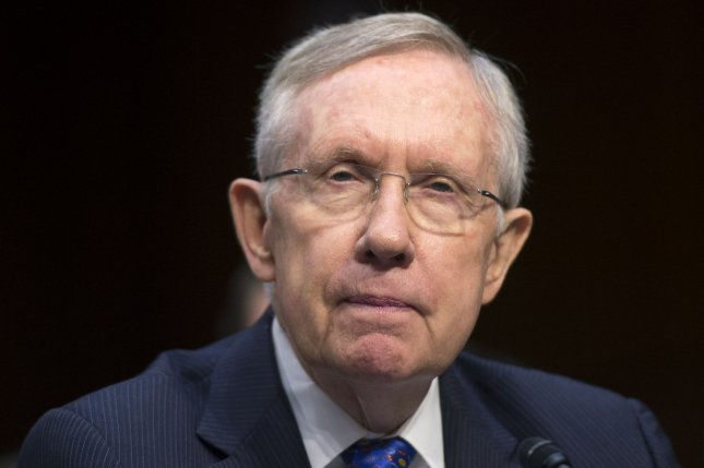 Senate Majority Leader Harry Reid (D-NV) testifies during a Senate Judiciary Committee hearing on a constitutional amendment on campaign finance, on Capitol Hill in Washington, D.C. on June 3, 2014. UPI/Kevin Dietsch