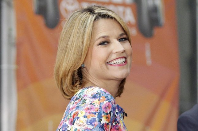 Savannah Guthrie on the Today show on May 23, 2014. The television personality is expecting her second child. File Photo by John Angelillo/UPI