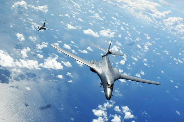 United States  bombers challenge China in South China Sea flyover