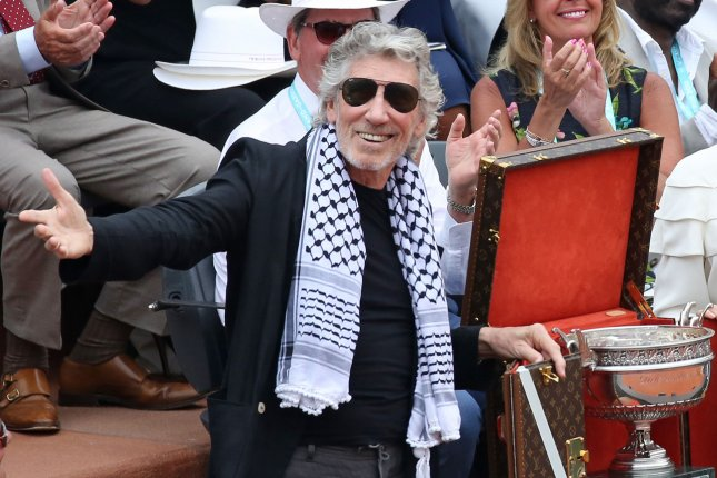 Roger Waters married his fifth wife, Kamilah Chavis, at a New York wedding. File Photo by David Silpa/UPI