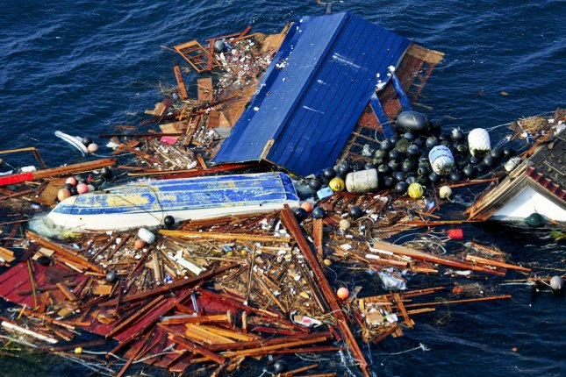 Japanese tsunami debris due in Canada soon