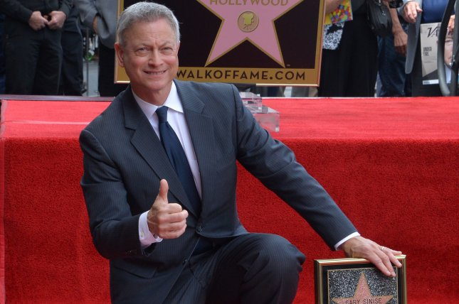 Actor and director Gary Sinise is to co-host with Joe Mantegna the National Memorial Day Concert in Washington, D.C., Sunday. File Photo by Jim Ruymen/UPI
