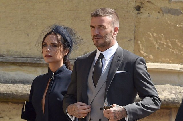 Victoria Beckham (L), pictured with David Beckham, shared a cute clip with daughter Harper. File Photo by Lionel Hahn/UPI