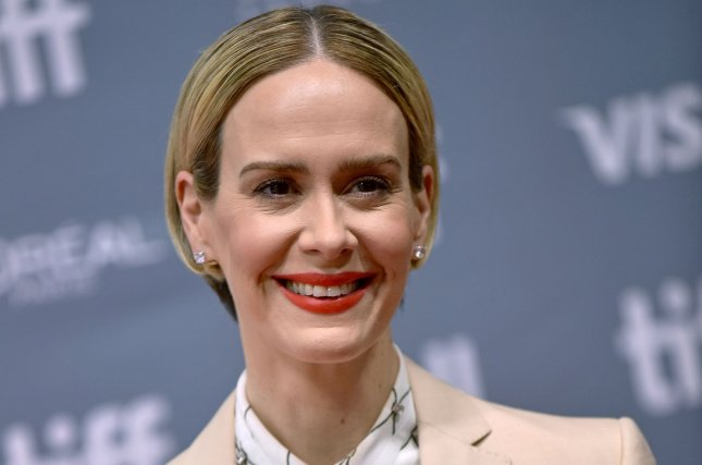 Sarah Paulson plays Nurse Mildred Ratched in the Netflix series Ratched, which is nominated for Outstanding Drama Series at the GLAAD Media Awards. File Photo by Christine Chew/UPI