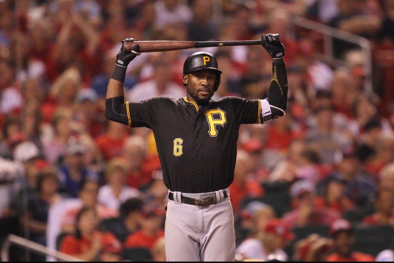Pittsburgh Pirates' Starling Marte. Photo by Bill Greenblatt/UPI