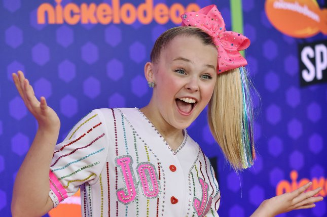 JoJo Siwa said she's staying positive after Justin Bieber insulted her new car on Instagram. File Photo by Christine Chew/UPI