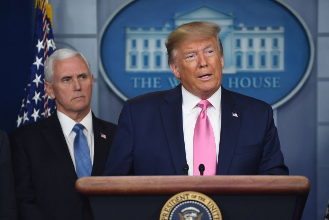 President Donald Trump on Wednesday appointed Vice President Mike Pence to lead the United States' response to the coronavirus. Photo by Pat Benic/UPI