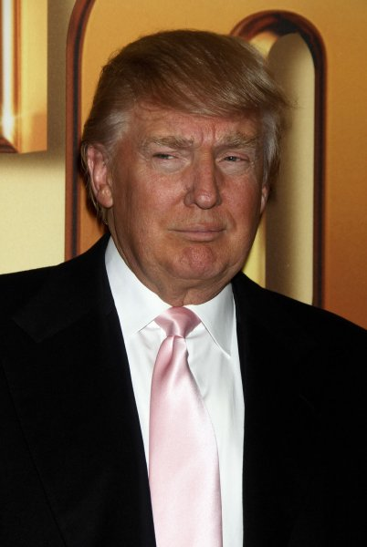 U.S. business mogul Donald Trump has finally been awarded an official coat of arms by Scottish heraldic authority. Oct. 24 file photo. UPI /Laura Cavanaugh