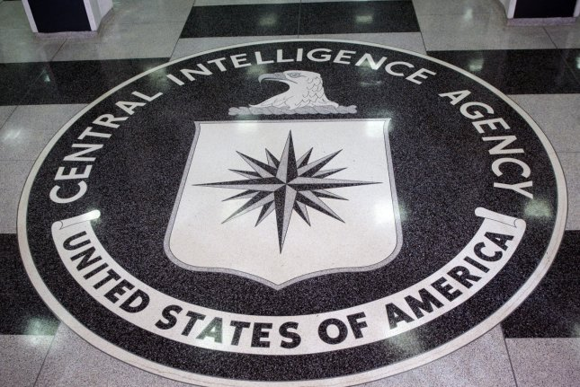 The seal of the Central Intelligence Agency sits on the floor of the foyer at the CIA Headquarters, Langley, VA on March 3, 2005. (UPI Photo/Dennis Brack/Pool)