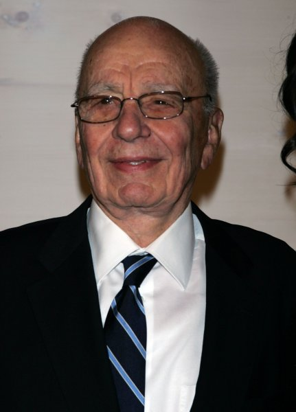 Rupert Murdoch, News Corp. chairman and top executive, said his company would survive the phone-hacking scandal that devoured one of his British tabloids. UPI /Laura Cavanaugh
