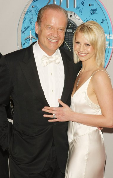 Actor Kelsey Grammer and wife Kayte Walsh arrive at the 65th Annual Tony Awards being held at the Beacon Theatre on June 12, 2011 in New York City. UPI/Monika Graff.