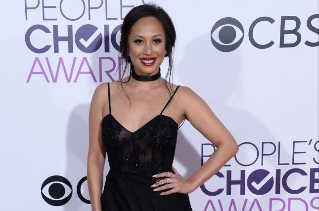 Cheryl Burke discussed her sobriety and how her Dancing with the Stars partner AJ McLean has inspired her. File Photo by Jim Ruymen/UPI