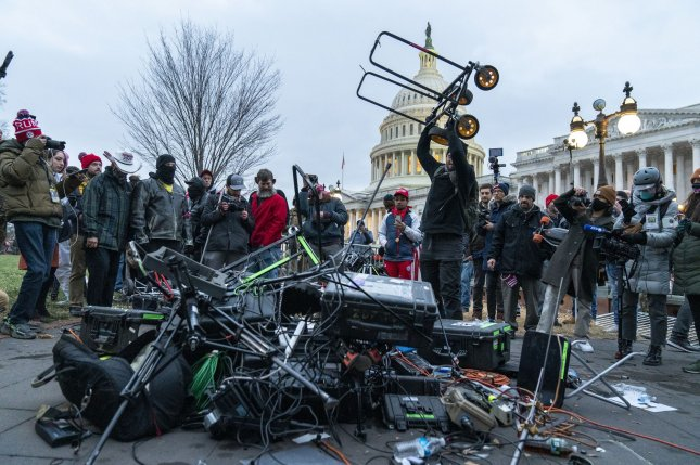 The Department of Homeland Security said domestic extremists may be emboldened by the January 6 attack on the U.S. Capitol. Photo by Ken Cedeno/UPI