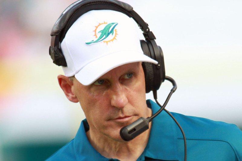 Miami Dolphins head coach Joe Philbin. UPI/Susan Knowles