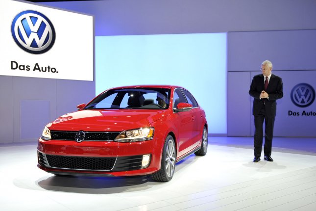 The Department of Justice filed a civil complaint against Volkswagen on Monday in relation to the company's scandal over false emissions data. Discussions between the U.S. government and Volkswagen about potential remedies and recalls have been ongoing. File Photo by Brian Kersey/UPI