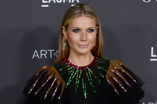 Gwyneth Paltrow discussed her relationship with Chris Martin on Thursday's episode of The Late Show. File Photo by Jim Ruymen/UPI