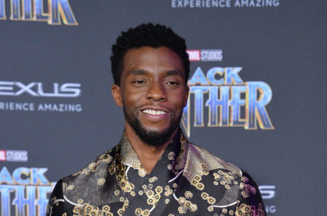 Black Panther star Chadwick Boseman is to be an Oscar presenter next month. Photo by Jim Ruymen/UPI