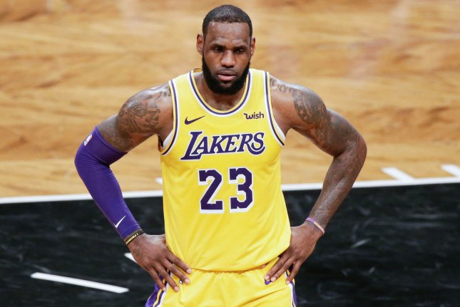 LeBron James and the Los Angeles Lakers face the New Orleans Pelicans on Friday. Photo by John Angelillo/UPI