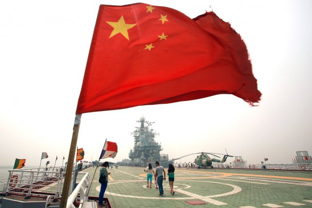 The People's Liberation Army Navy has conducted joint military exercises for the first time in an area off the coast of South Africa. File Photo by Stephen Shaver/UPI