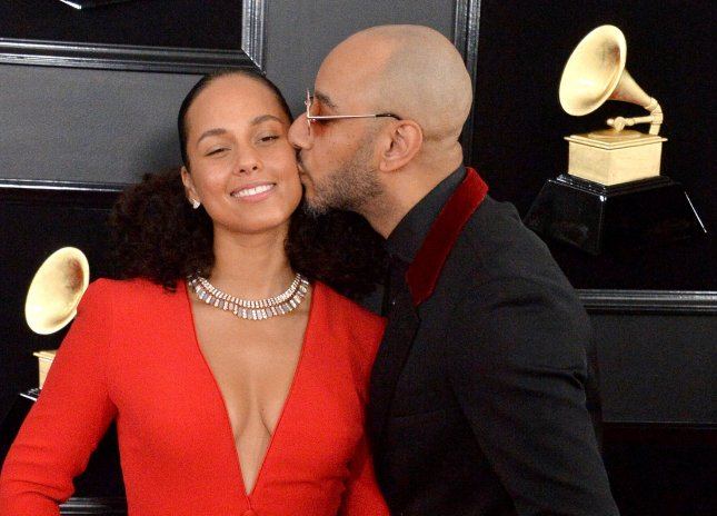 Alicia Keys (L) and Swizz Beatz celebrated their 11th wedding anniversary this weekend. File Photo by Jim Ruymen/UPI