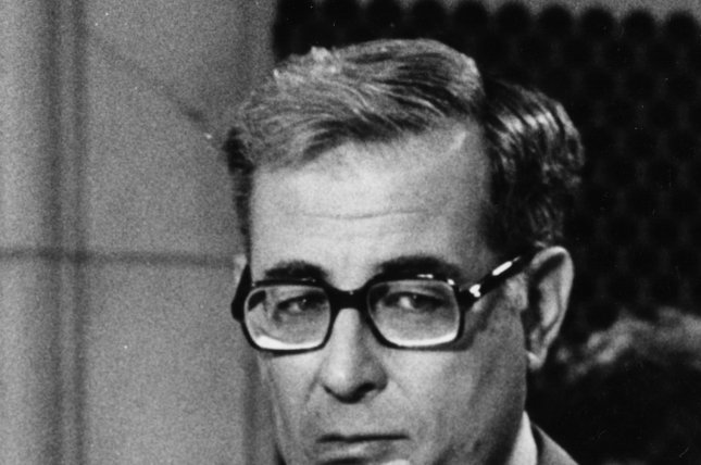Defense Secretary Harold Brown appears before testifying on a hearing on December 13, 1979 with the Senate Armed Services Committee about the SALT II Treaty. Brown died Friday at age 91. File photo by Frank Cancellares/UPI