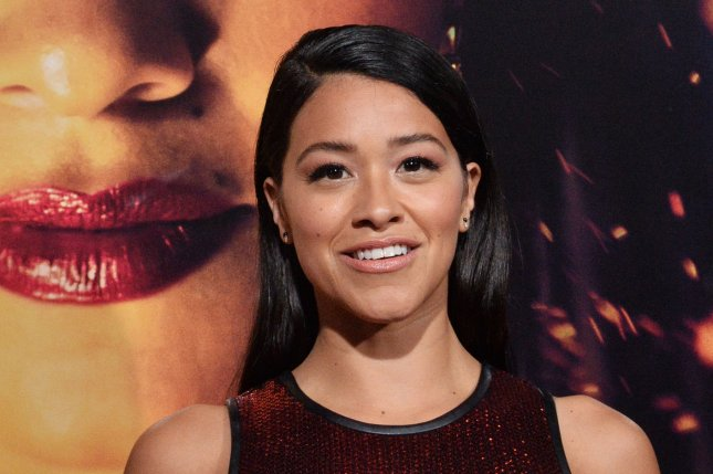 Gina Rodriguez will play an ex-soldier and mother in the movie Awake. File Photo by Jim Ruymen/UPI