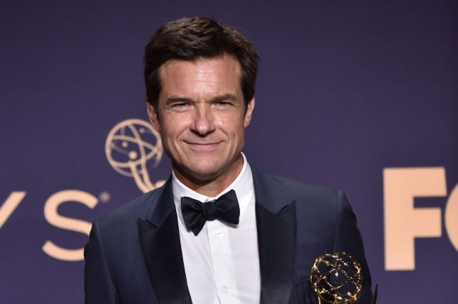 Jason Bateman co-hosts the SmartLess podcast with Sean Hayes and Will Arnett. File Photo by Christine Chew/UPI