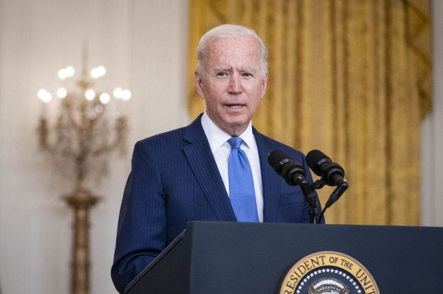 President Joe Biden deliver remarks in honor of labor unions during an event in the East Room of the White House in Washington, D.C., on September 8. Biden will make remarks on the economy Thursday. Photo by Shawn Thew/UPI